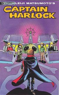 Cover Thumbnail for Captain Harlock (Malibu, 1989 series) #13