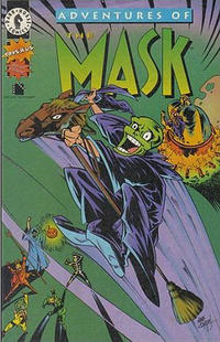 Cover Thumbnail for Adventures of the Mask Toys R Us Special Edition (Dark Horse, 1996 series)