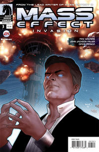 Cover Thumbnail for Mass Effect: Invasion (Dark Horse, 2011 series) #3 [Renaud variant cover]