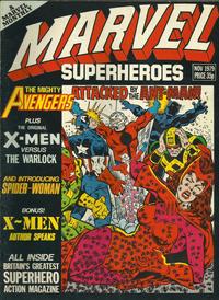 Cover Thumbnail for Marvel Superheroes [Marvel Super-Heroes] (Marvel UK, 1979 series) #355