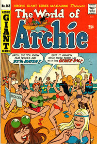 Cover Thumbnail for Archie Giant Series Magazine (Archie, 1954 series) #165