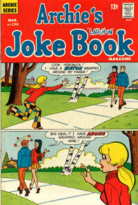 Cover Thumbnail for Archie's Joke Book Magazine (Archie, 1953 series) #134