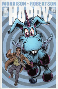 Cover for Happy! (Image, 2012 series) #1 [Cover A Darick Robertson]