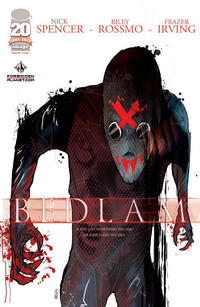 Cover Thumbnail for Bedlam (Image, 2012 series) #1 [Forbidden Planet Cover]