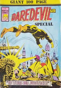 Cover Thumbnail for Daredevil Special (Newton Comics, 1975 ? series) #1