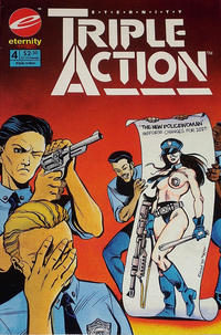 Cover Thumbnail for Eternity Triple Action (Malibu, 1993 series) #4