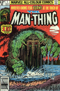 Cover Thumbnail for Man-Thing (Marvel, 1979 series) #1 [British]
