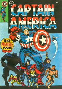 Cover Thumbnail for Captain America (Yaffa / Page, 1978 ? series) #1