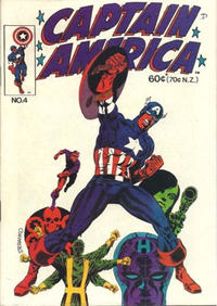 Cover Thumbnail for Captain America (Yaffa / Page, 1978 ? series) #4