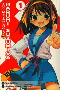 Cover Thumbnail for The Melancholy of Haruhi Suzumiya (Hachette Book Group USA, 2008 series) #1
