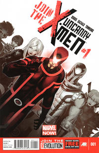 Cover for Uncanny X-Men (Marvel, 2013 series) #1 [Variant by Gabriele Dell'Otto]
