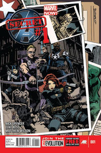 Cover Thumbnail for Secret Avengers (Marvel, 2013 series) #1