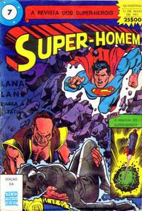 Cover Thumbnail for Super-Heróis (Agência Portuguesa de Revistas, 1982 series) #7
