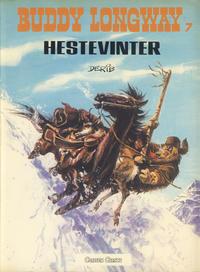 Cover Thumbnail for Buddy Longway (Forlaget Carlsen, 1977 series) #7 - Hestevinter