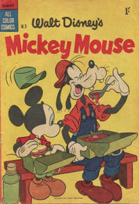 Cover Thumbnail for Walt Disney's Mickey Mouse (W. G. Publications; Wogan Publications, 1956 series) #3