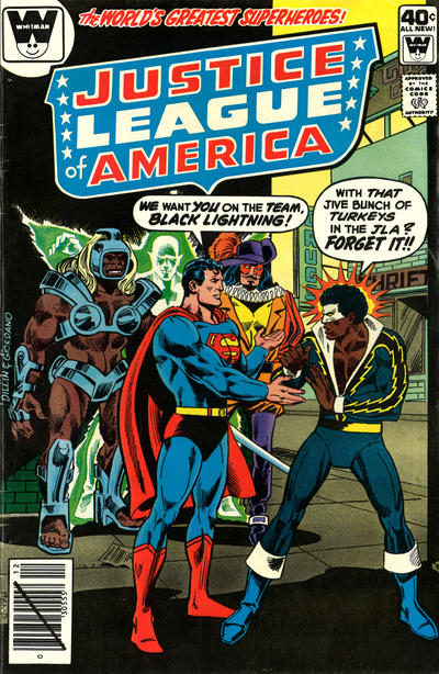 Cover for Justice League of America (DC, 1960 series) #173 [Whitman Variant]