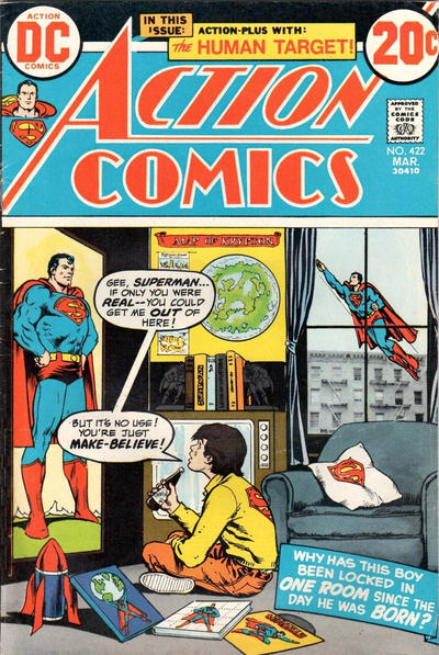 Cover for Action Comics (DC, 1938 series) #422
