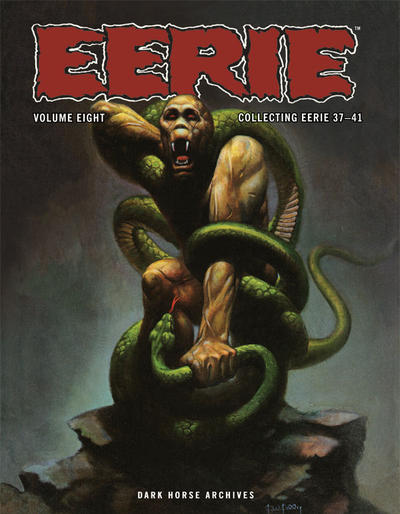 Cover for Eerie Archives (Dark Horse, 2009 series) #8