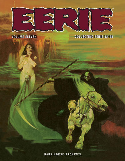 Cover for Eerie Archives (Dark Horse, 2009 series) #11