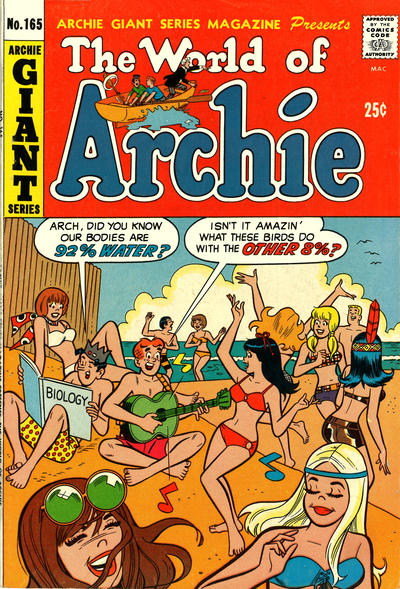 Cover for Archie Giant Series Magazine (Archie, 1954 series) #165