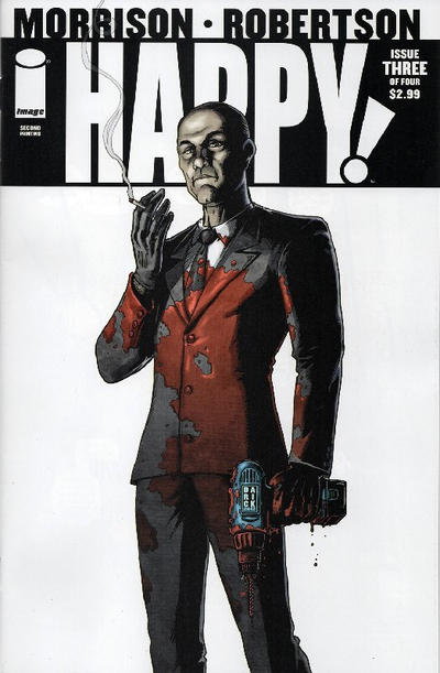 Cover for Happy! (Image, 2012 series) #3 [Rian Hughes Variant]