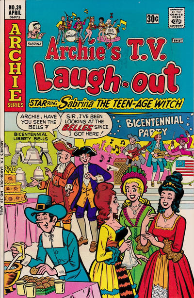 Cover for Archie's TV Laugh-Out (Archie, 1969 series) #39