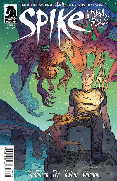 Cover for Spike (Dark Horse, 2012 series) #4