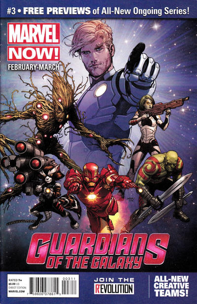 Cover for Marvel Now! Previews (Marvel, 2012 series) #3