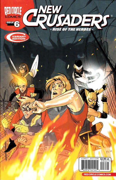 Cover for New Crusaders (Archie, 2012 series) #6 [Standard Cover]