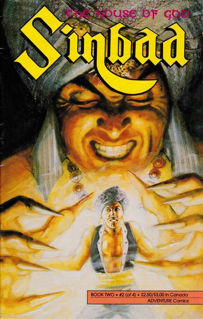Cover for Sinbad Book II (Malibu, 1991 series) #2