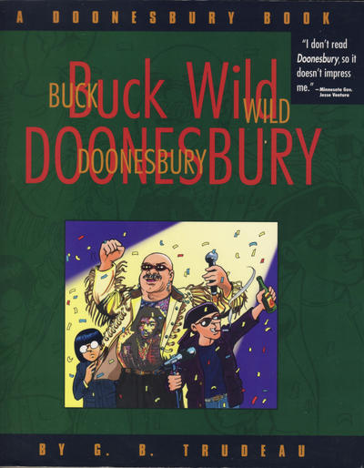 Cover for Buck Wild Doonesbury (A Doonesbury Book) (Andrews McMeel, 1999 series) #[nn]