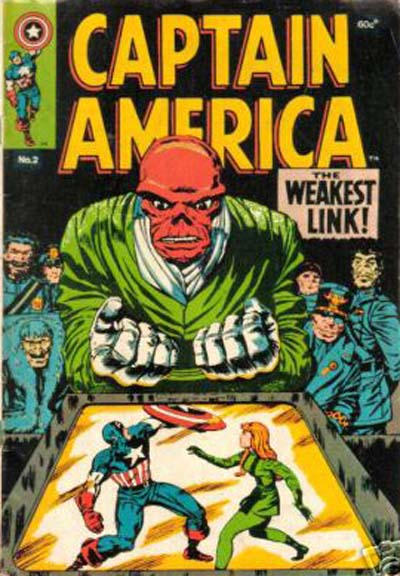 Cover for Captain America (Yaffa / Page, 1978 ? series) #2