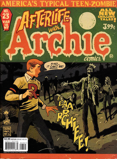 Cover for Life with Archie (Archie, 2010 series) #23 [variant]