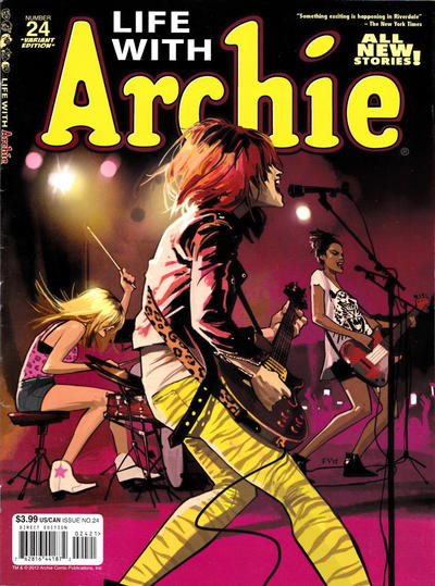 Cover for Life with Archie (Archie, 2010 series) #24