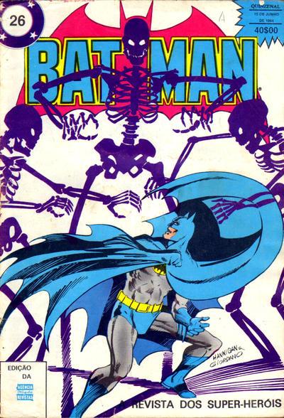 Cover for Super-Heróis (Agência Portuguesa de Revistas, 1982 series) #26