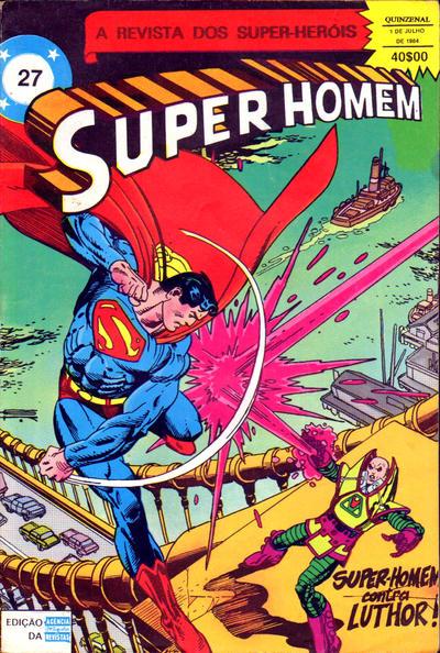 Cover for Super-Heróis (Agência Portuguesa de Revistas, 1982 series) #27