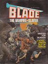 Cover for Blade the Vampire-Slayer (Yaffa / Page, 1981 series)