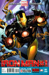 Cover Thumbnail for Iron Man (2013 series) #1 [2nd Printing]