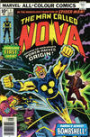 Cover Thumbnail for Nova (1976 series) #1 [British Price Variant]
