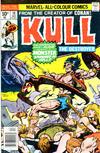 Cover for Kull the Destroyer (Marvel, 1973 series) #18 [British price variant]