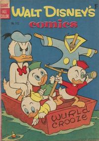 Cover Thumbnail for Walt Disney's Comics (W. G. Publications; Wogan Publications, 1946 series) #112