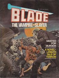 Cover Thumbnail for Blade the Vampire-Slayer (Yaffa / Page, 1981 series)