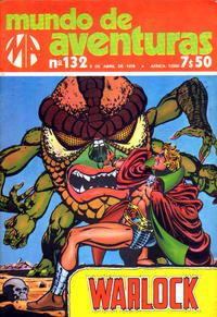 Cover Thumbnail for Mundo de Aventuras (Agência Portuguesa de Revistas, 1973 series) #132