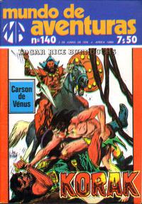 Cover Thumbnail for Mundo de Aventuras (Agência Portuguesa de Revistas, 1973 series) #140