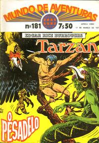 Cover Thumbnail for Mundo de Aventuras (Agência Portuguesa de Revistas, 1973 series) #181
