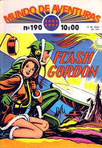 Cover Thumbnail for Mundo de Aventuras (Agência Portuguesa de Revistas, 1973 series) #190