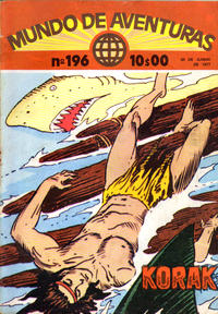 Cover Thumbnail for Mundo de Aventuras (Agência Portuguesa de Revistas, 1973 series) #196