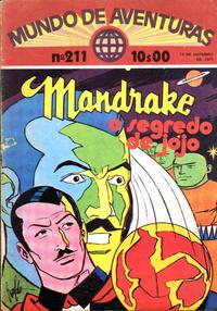 Cover Thumbnail for Mundo de Aventuras (Agência Portuguesa de Revistas, 1973 series) #211