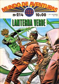 Cover Thumbnail for Mundo de Aventuras (Agência Portuguesa de Revistas, 1973 series) #214