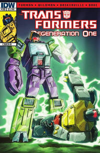 Cover for Transformers: Regeneration One (IDW, 2012 series) #88 [Cover A - Andrew Wildman]